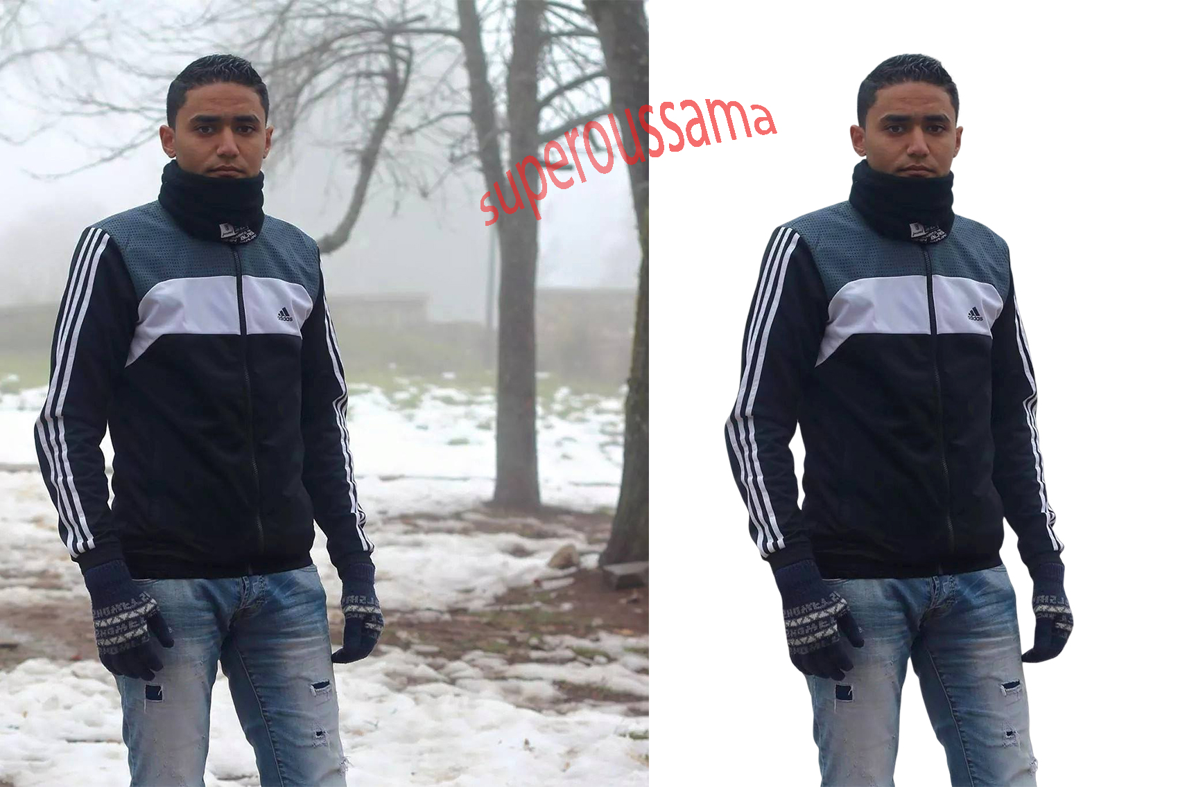 Removing background Service using Photoshop 9 images