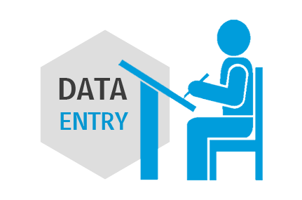 Expert in data entry,  Excel work,  transcription and logo design.