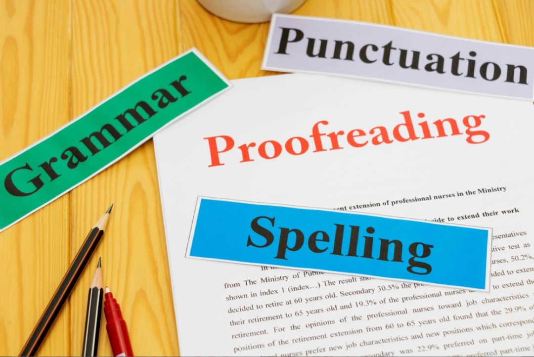 Proofread and edit any document up to 2500 words
