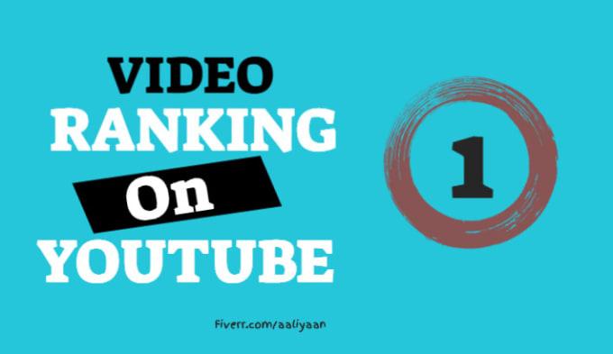 I will do SEO on YouTube video to improve ranking