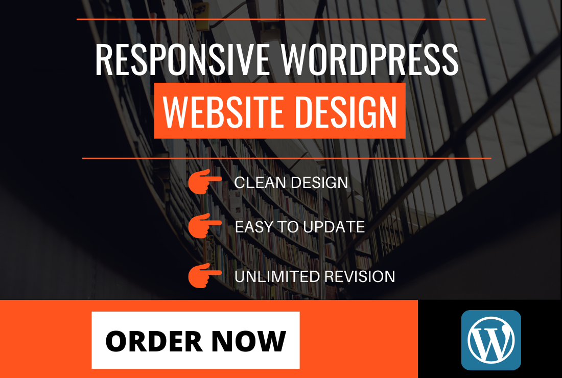 design or redesign a responsive ecommerce wordpress website