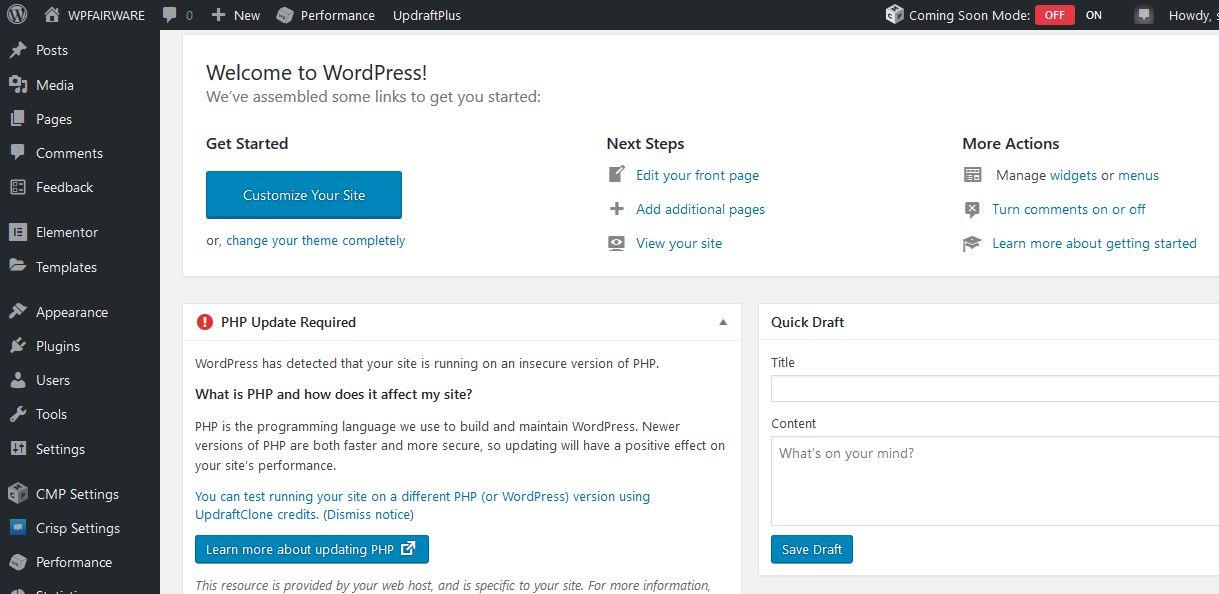 install wordpress,setup theme and customization your website