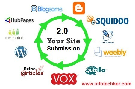 SUBMIT YOUR WEBSITE TO 500+ BOOKMARKS
