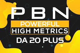 I Will Make 10 Permanent High DA PA Contextual PBN Backlinks high metrics