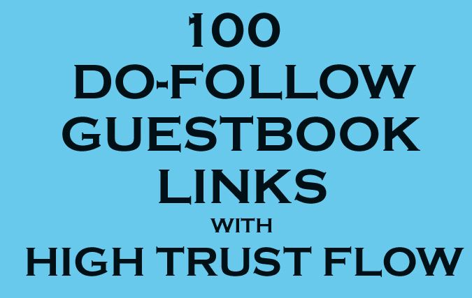 Dofollow Guestbook Edu Gov and High DA link to Skyrocket your Site