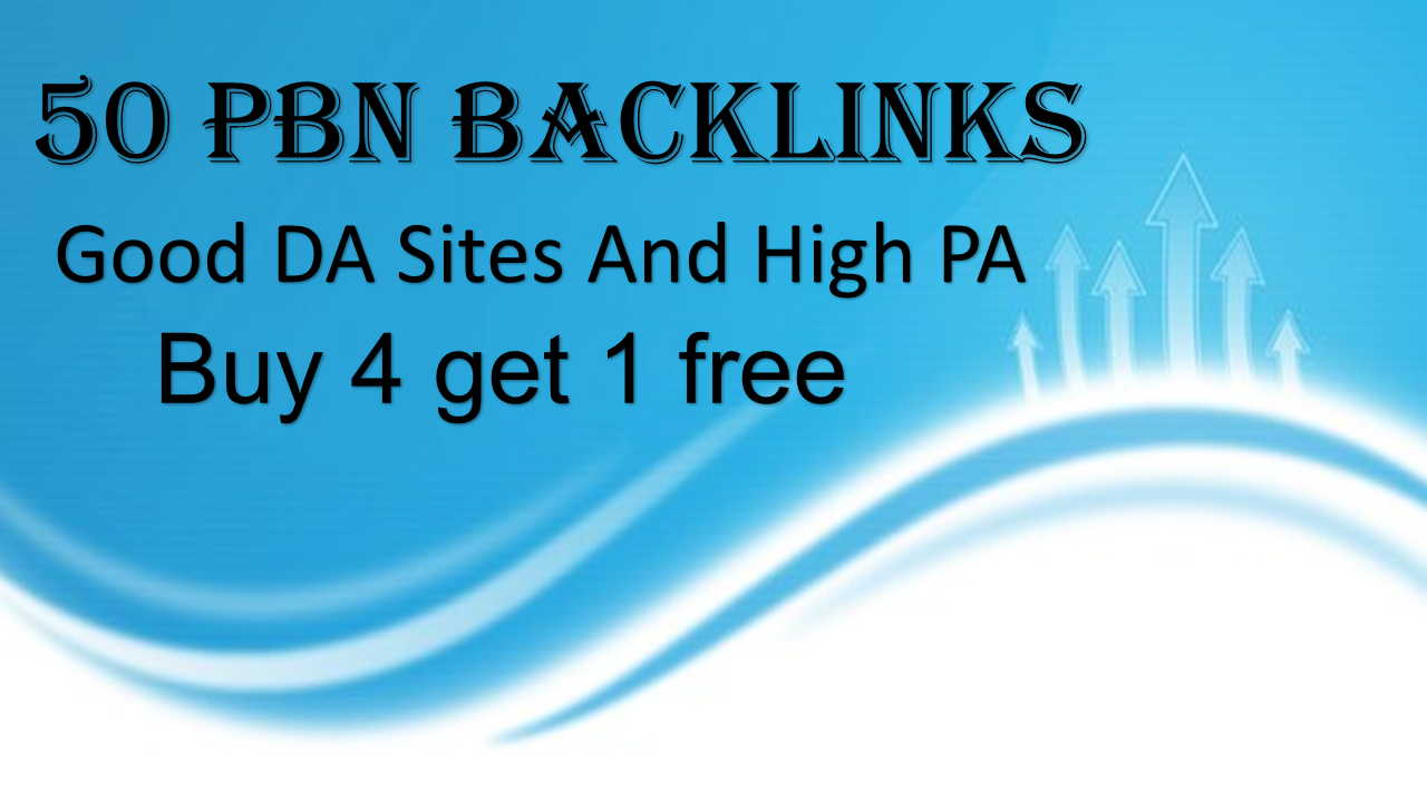 I will post on quality 50 pbn links that will boost your site ranking