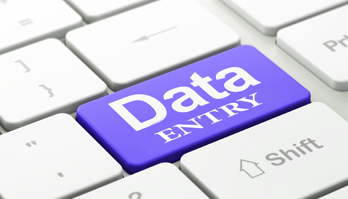 DATA ENTRY DONE FOR ALL TYPES OF WORK