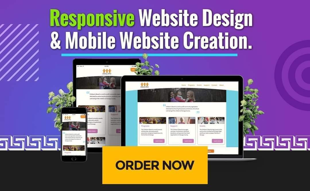 design and host 1 page wordpress website or store for your business