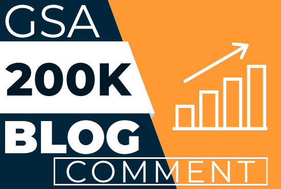 200K Live GSA Blog Comments Backlinks For Google Ranking