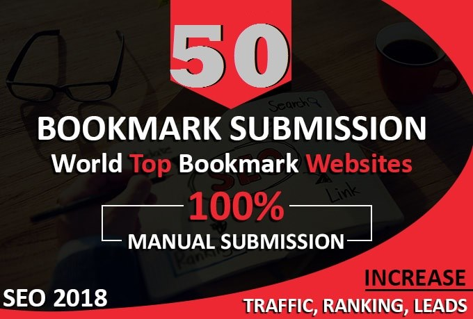 Create 50 Do-Follow Top Quality Social Bookmark Submission