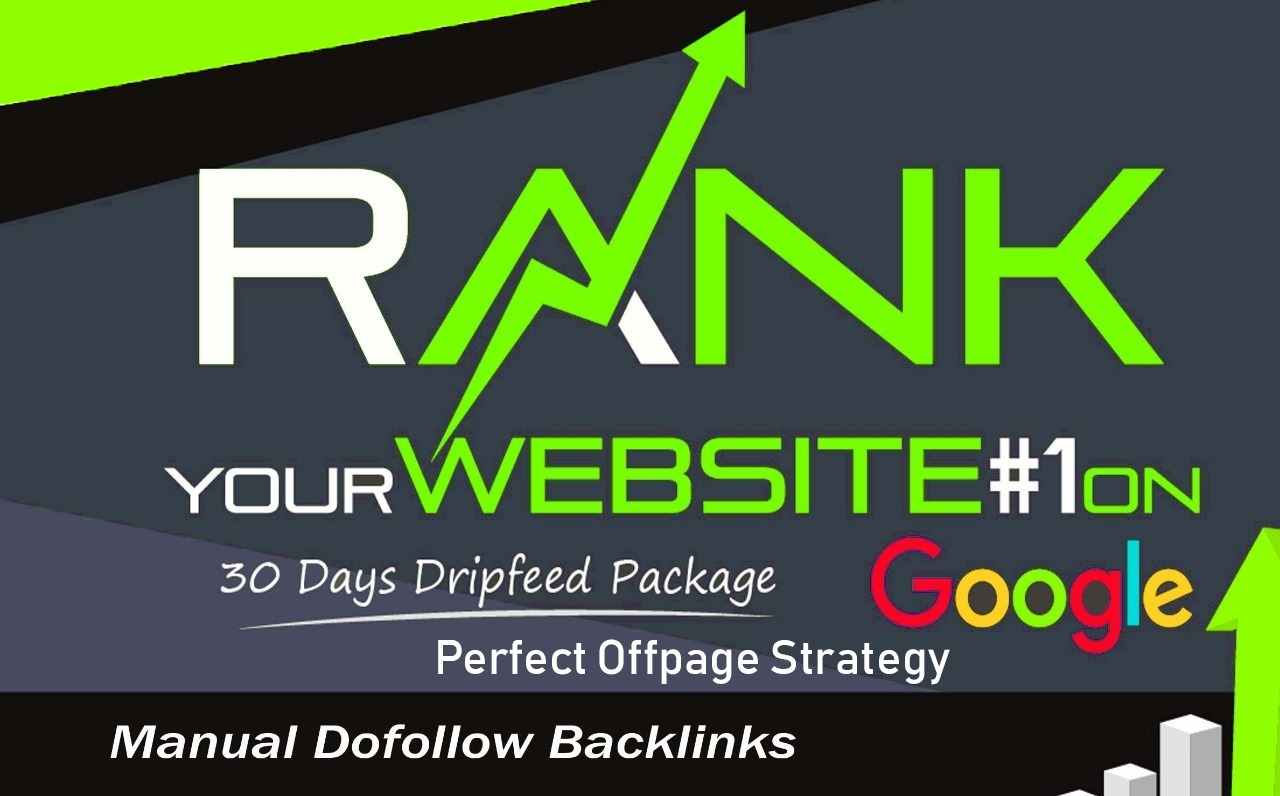 30 days Drip Feed SEO Backlinks Service For Daily Update