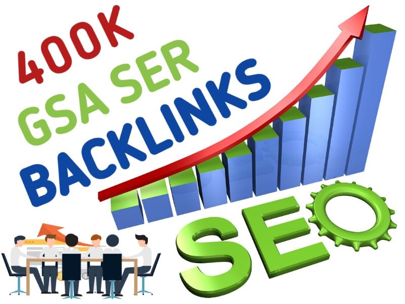 400k High Powerful GSA SER Backlinks For Fastest Ranking
