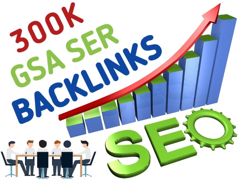 Provide 300k GSA SERSeo Backlinks