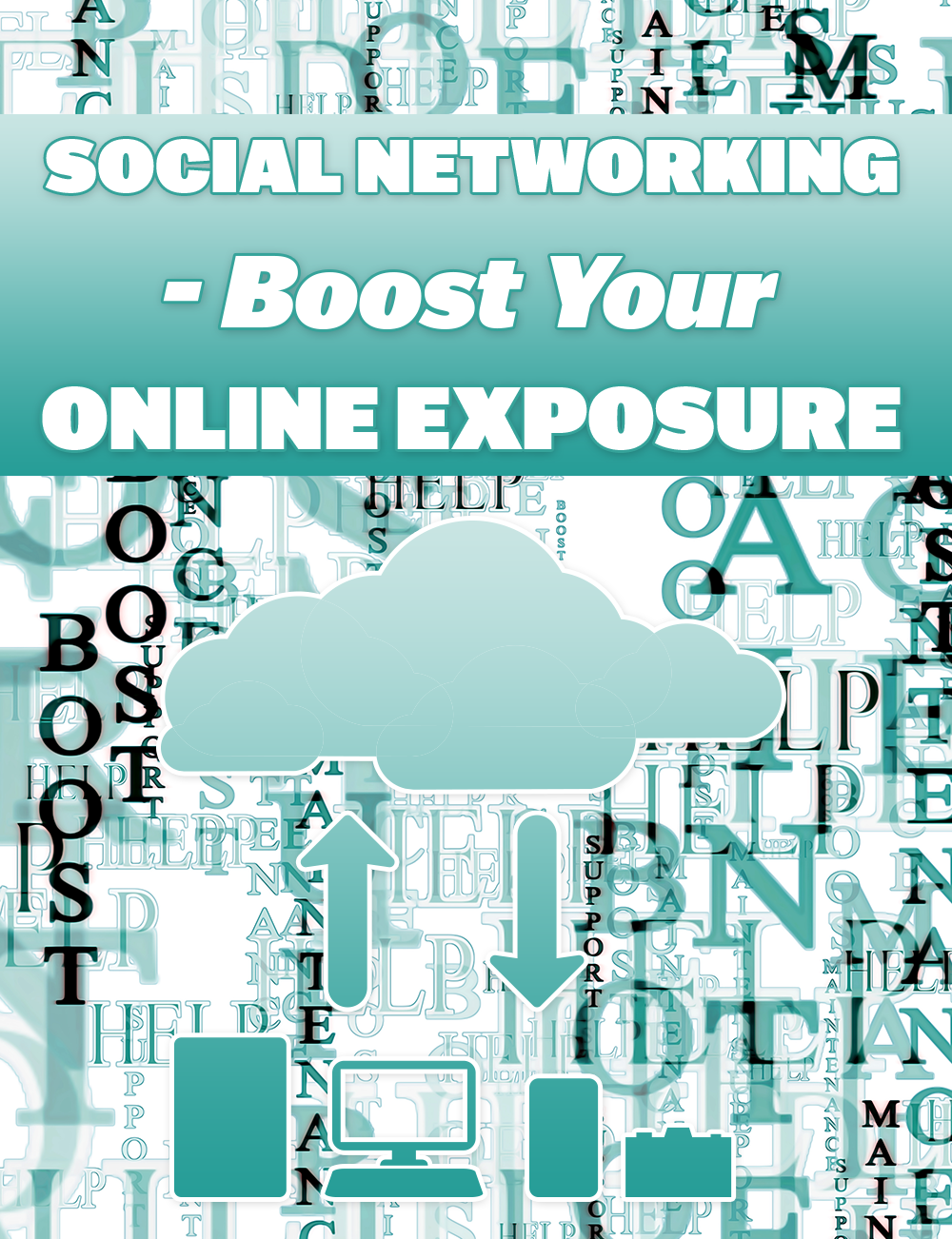 Social networking boost your online exposure ebook