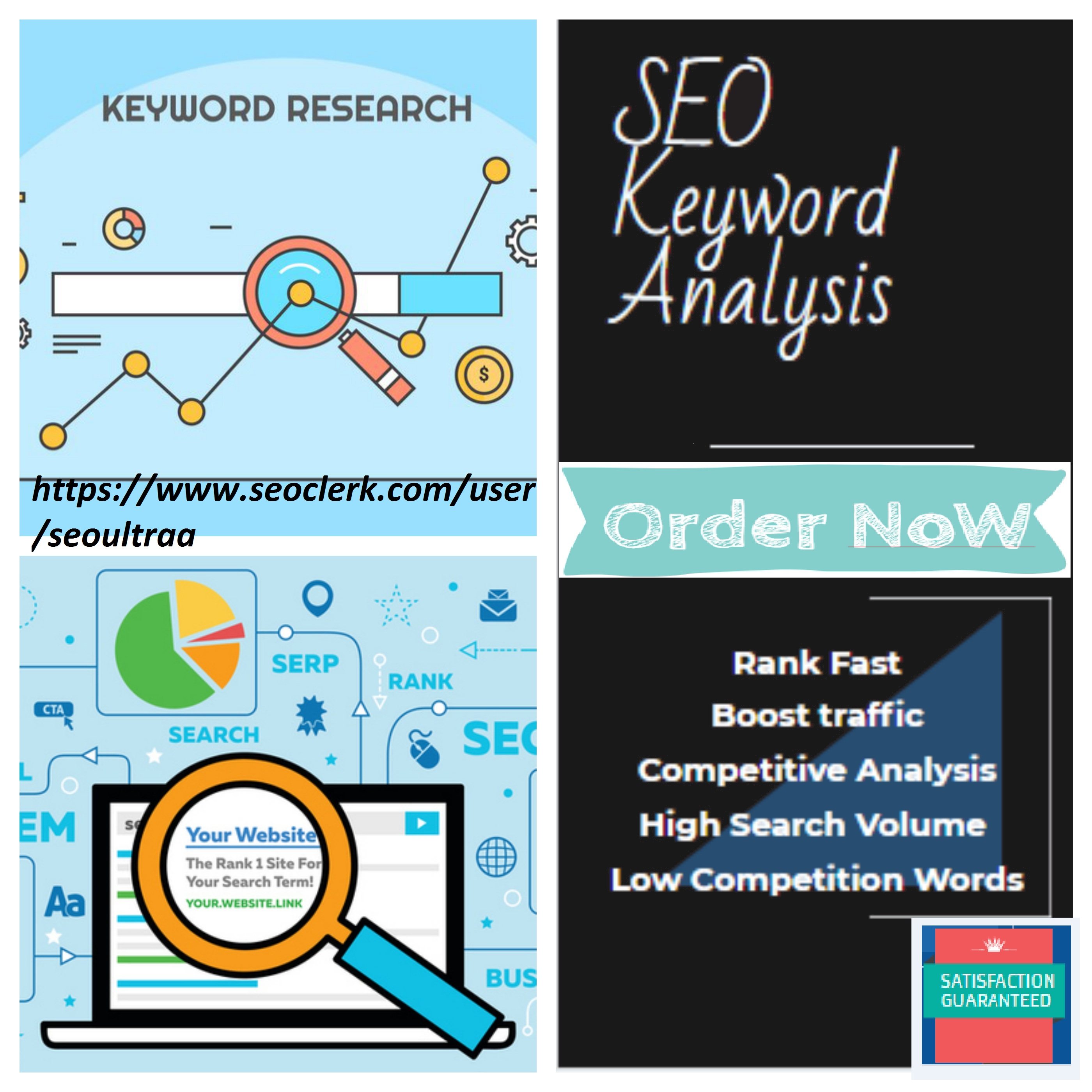 Perfect SEO keyword research with competitor analysis