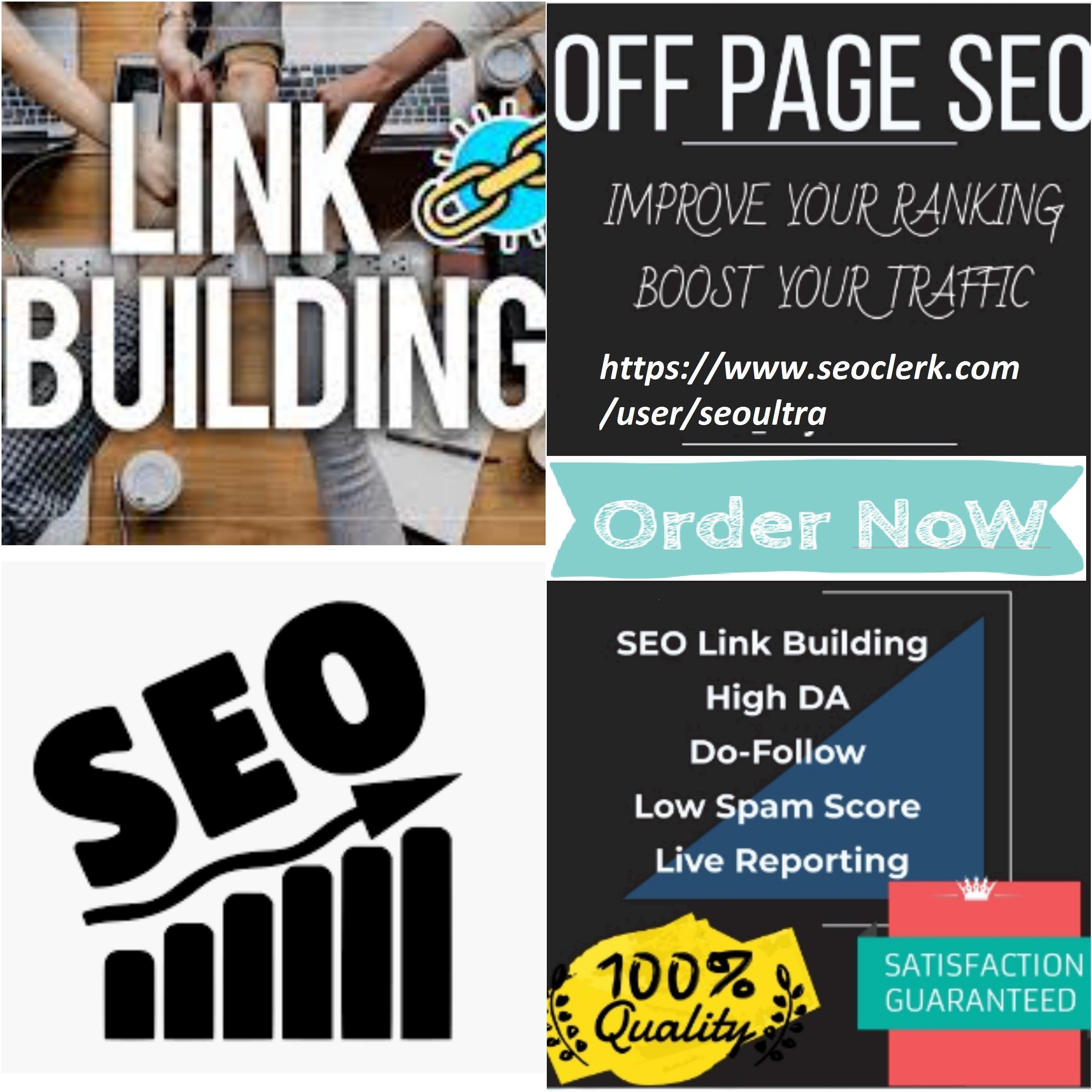 Create 100 High DA do-follow backlinks