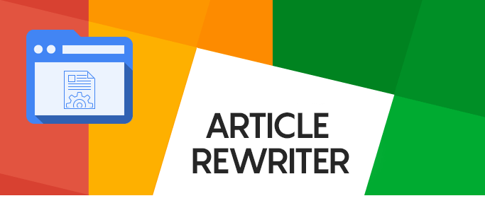 I am an exclusive Content/ Article Rewriter