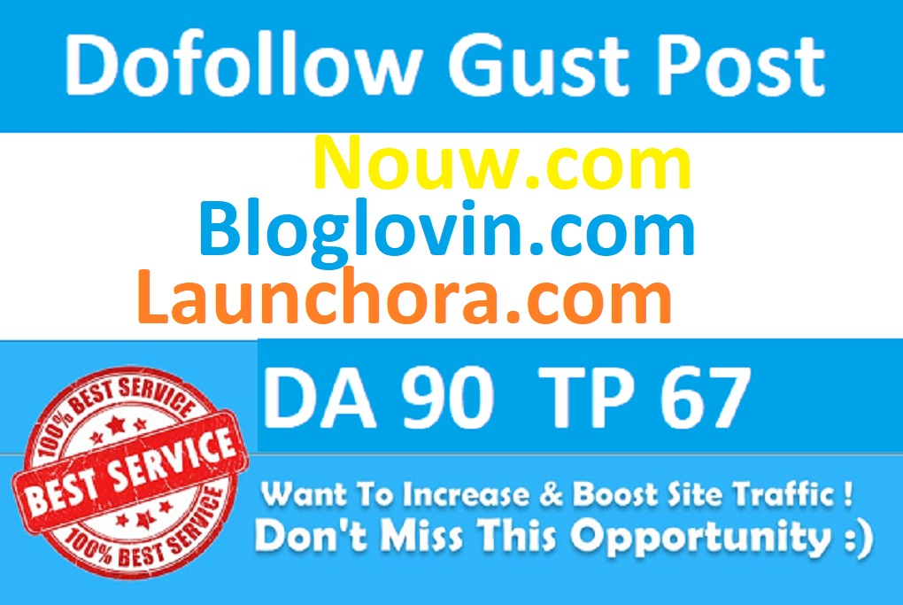 I will Provide 3 High Quality Permanent Backlink on 3 Dofollow Sites DA93