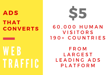 Unlimited Professional Web Traffic Clicks from Real, Active Human