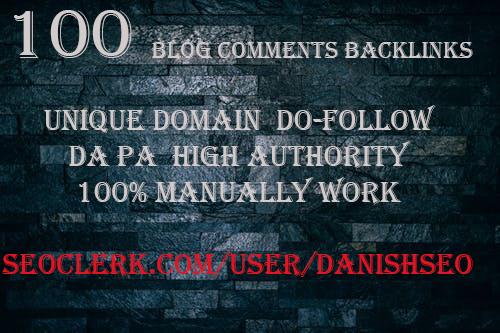 100 Unique domain dofollow DAPA High Authority