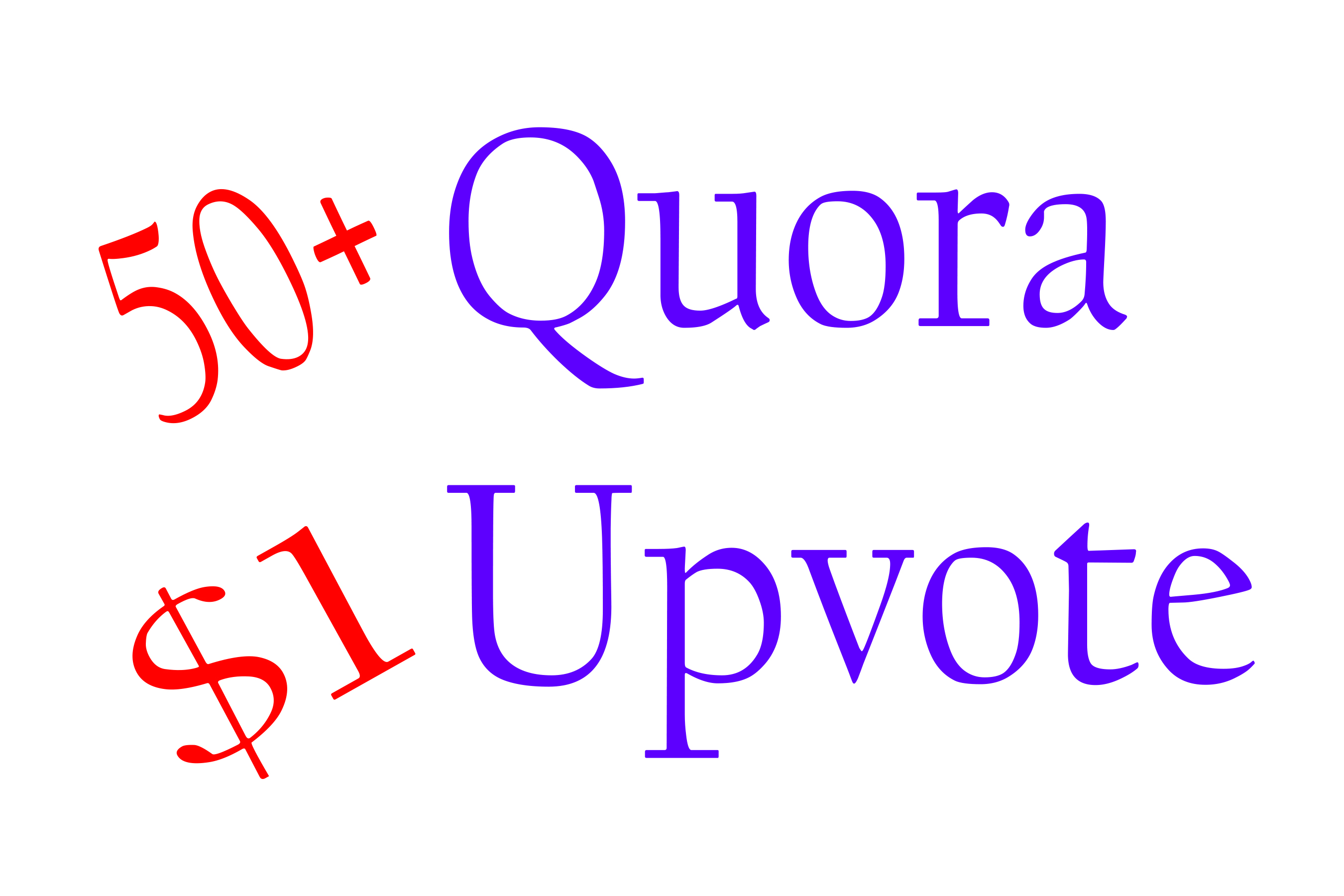 50+ Quora Upvote to your question