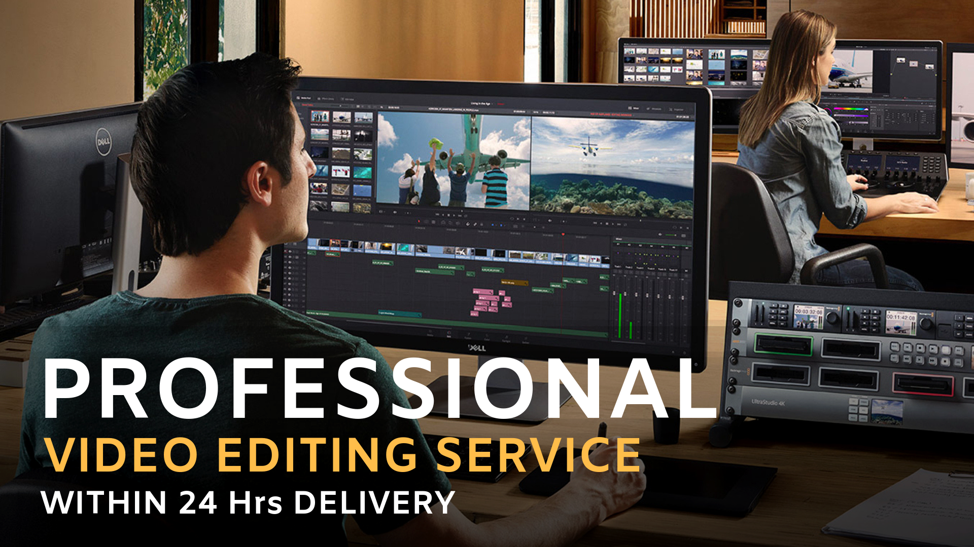Professional Video Editing - Edit Your Video Professionally