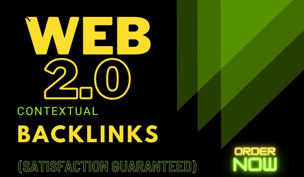 High authority Web 2.0 Backlinks