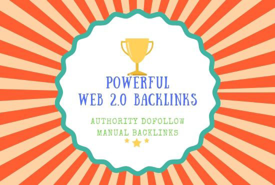 Provied 200+ Web 2.0 Backlinks To Boost Your Ranking