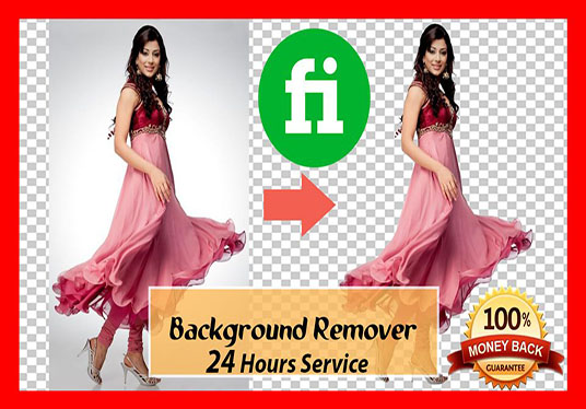 I will remove background 50 pictures
