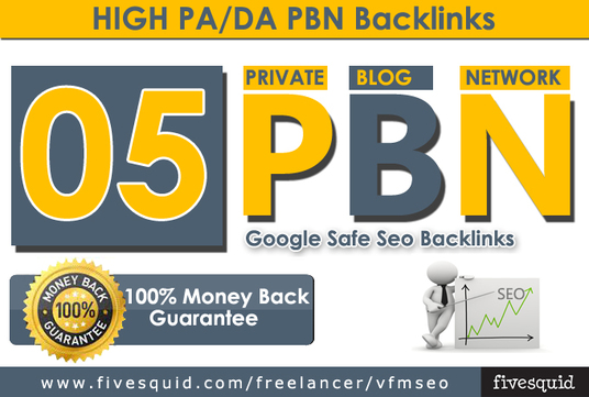 5 pbn backlinks home page parmanent post high da 20+