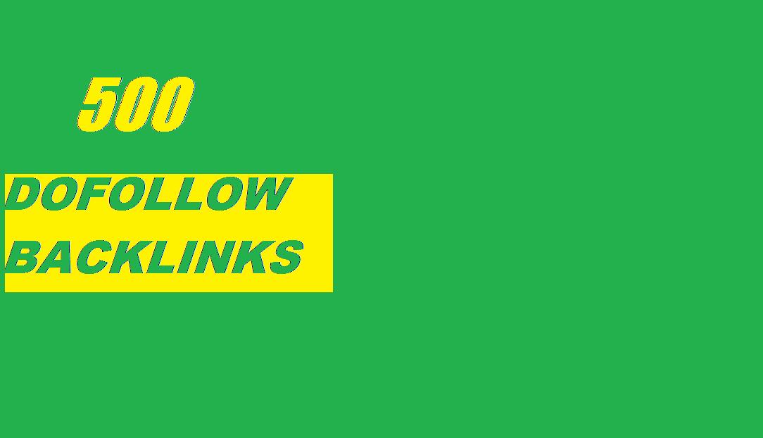 500 dofollow blogcomments on seoclerk