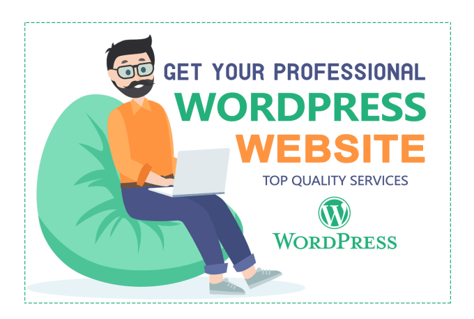 I will create your professional wordpress website