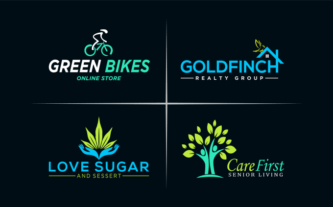 I will design minimalist logo for you Business/Company.