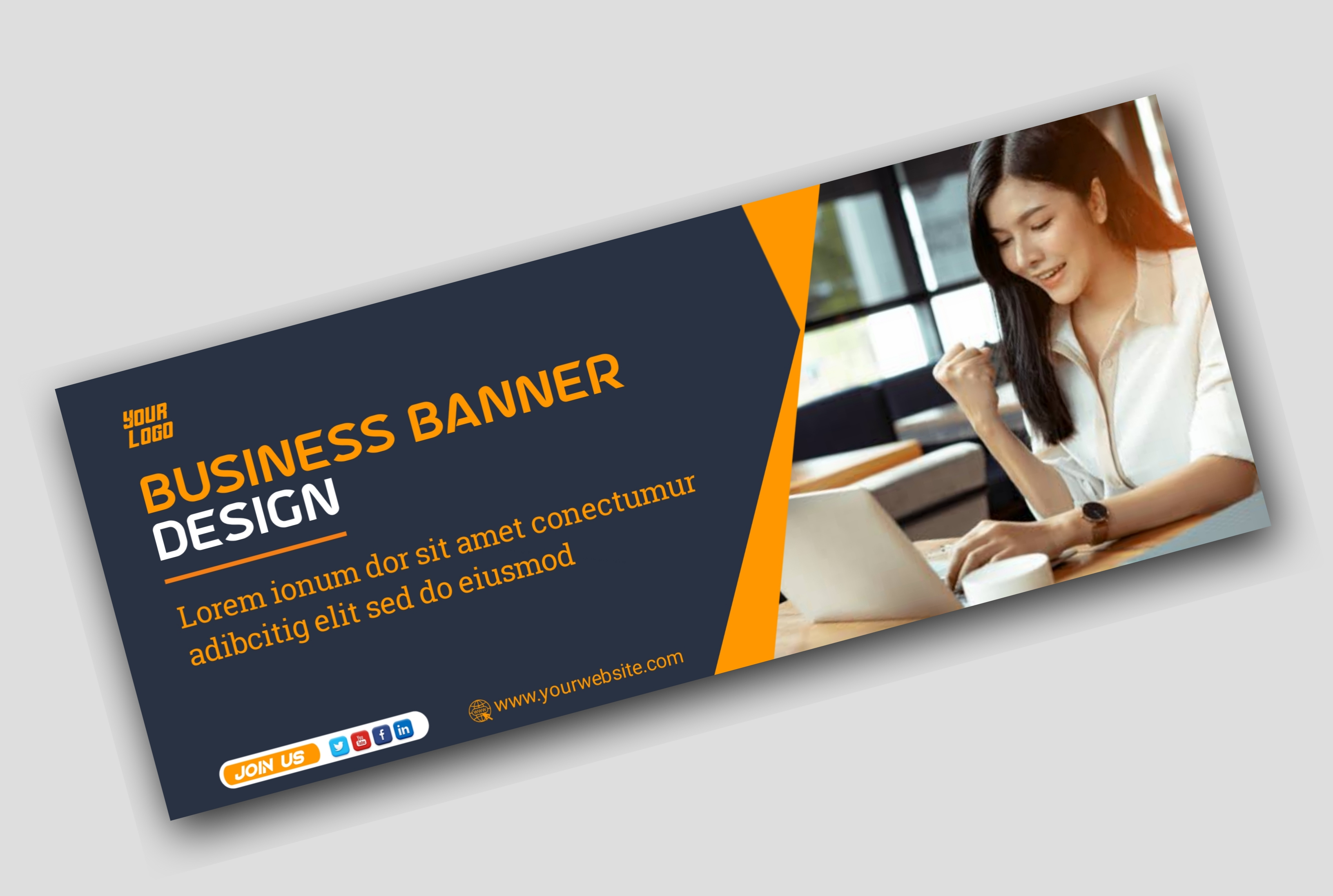 I will Design Website banner & Ad Banner