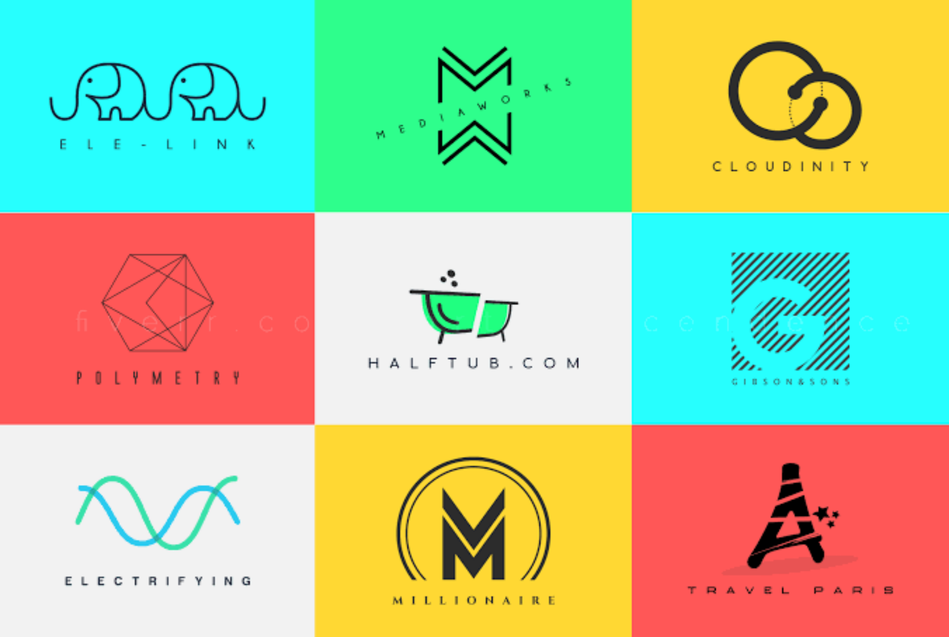 Create a professional minimalist logo for your business & company