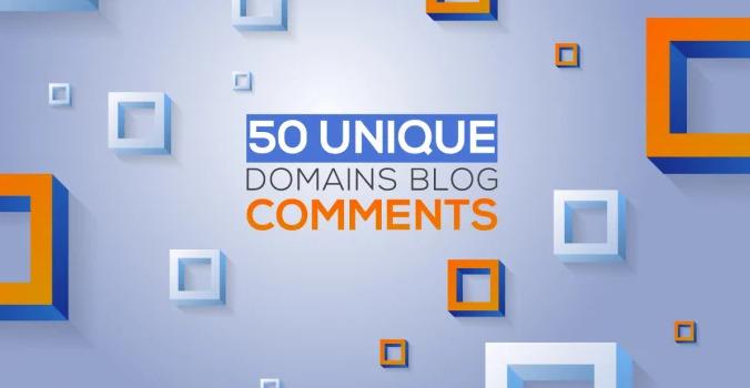 I will do 50 unique high PR backlinks on DA30plus sites