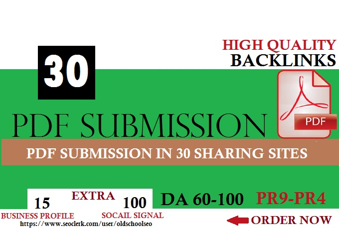 100 Manual PDF Creation & Submission Service