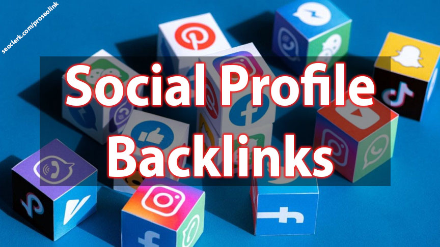 Social Profile Backlink 125+ from various network for SEO optimization