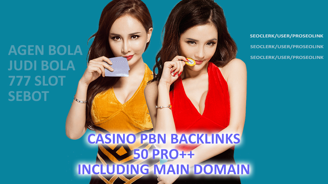 50 Pro + Poker/Casino/gambling PBN Homepage Backlinks with niche relevant blog-post