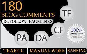 I Mannully Do 180 Blog Comment Dofollow SEO Backlinks