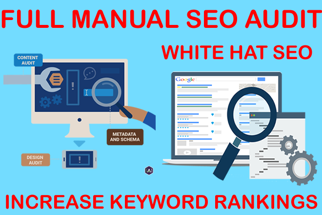 Complete a full SEO audit on your website