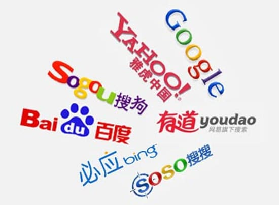 Submit your site url to 5 top Chinese search engines,  China seo