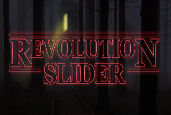Install Revolution Slider Fix And Create Slider With Revolution Slider