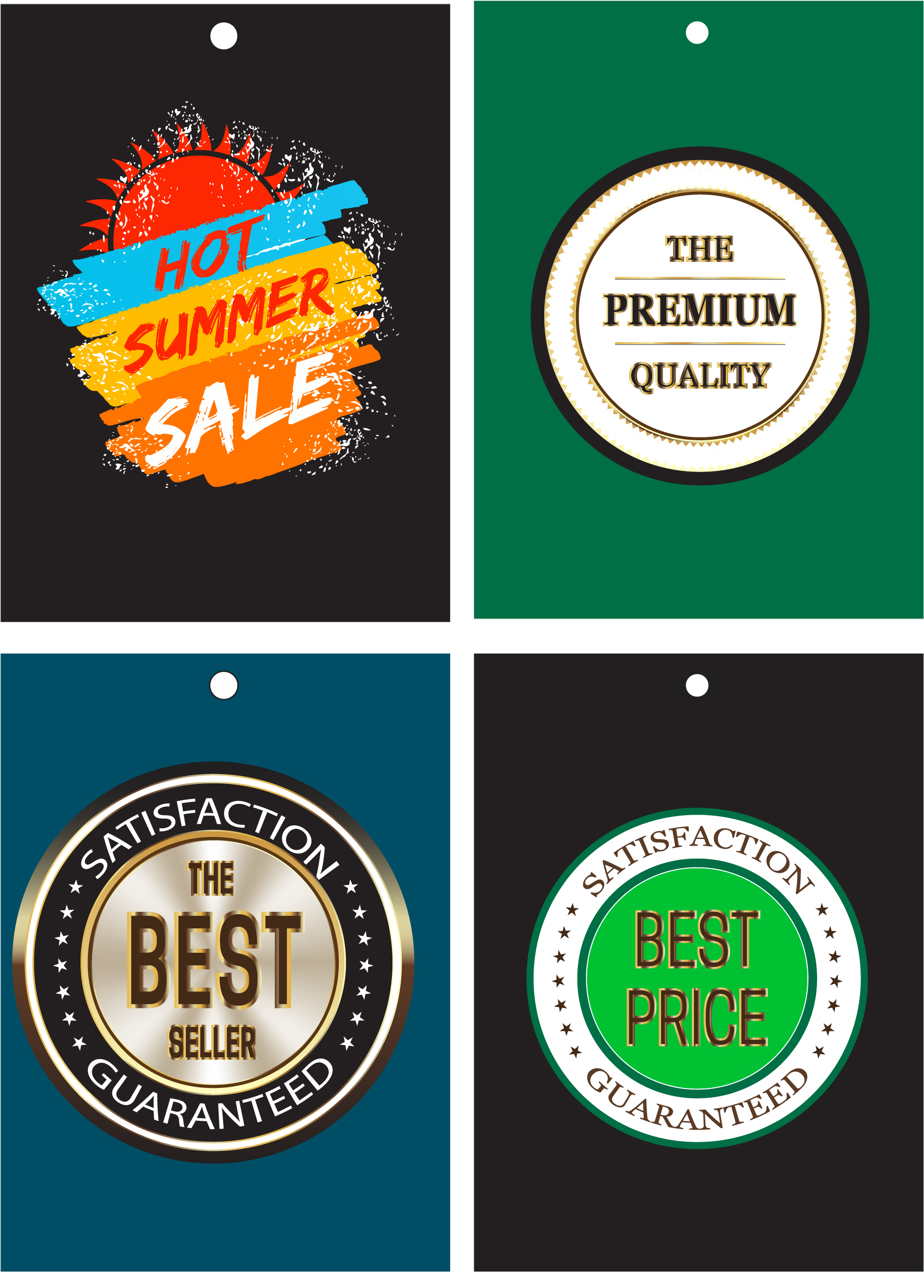 design a circular round logo,  badge,  sticker,  label,  and price tag.