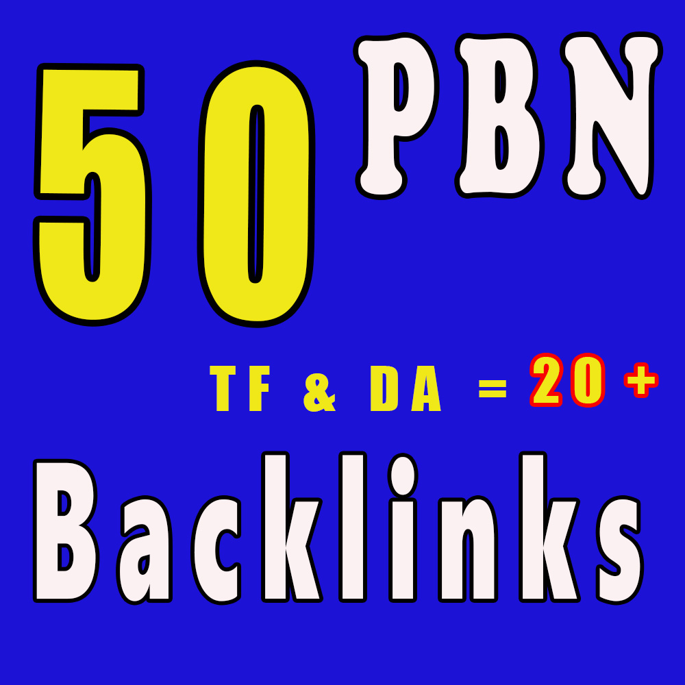 I Will Do 50+ Homepage Guest Post PBN Backlinks,  High PR to get Skyrocket Links