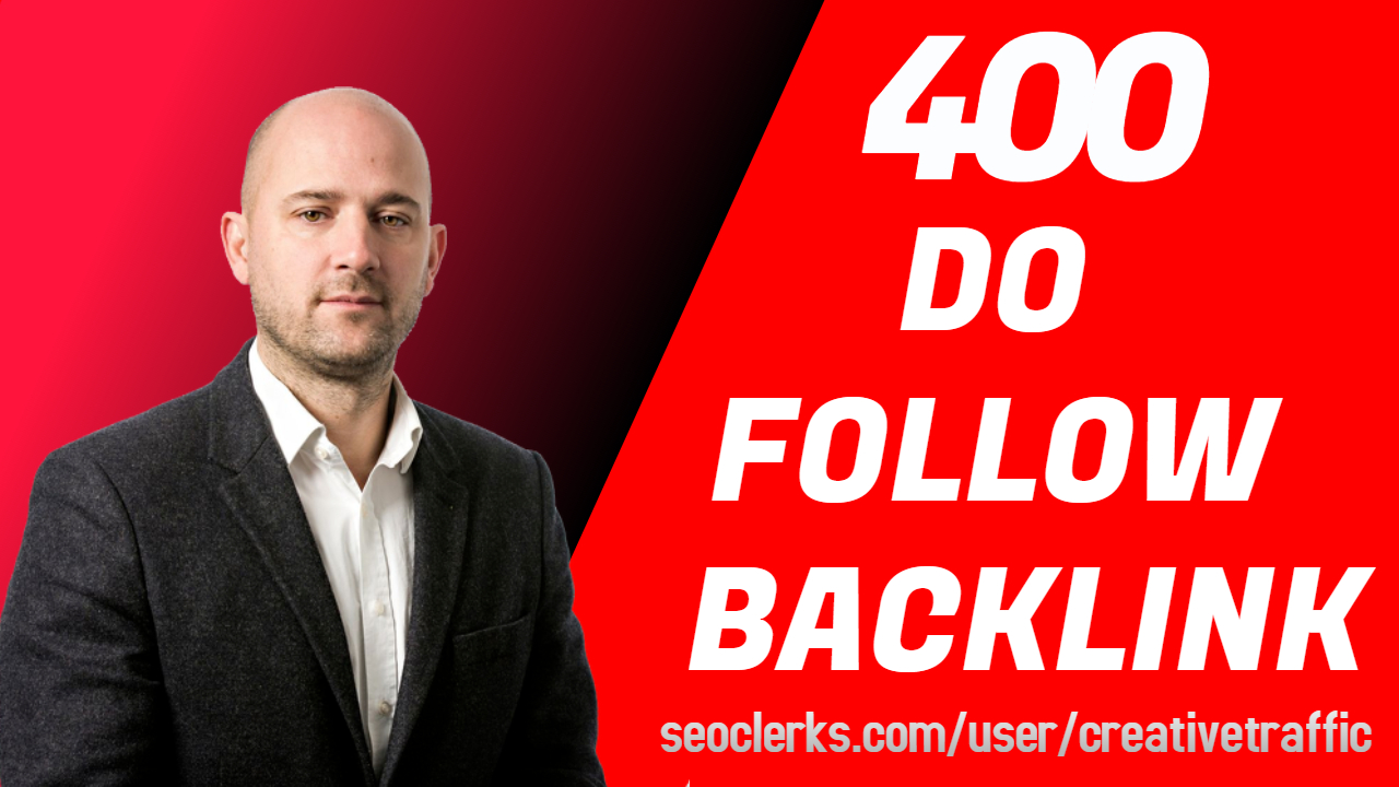 Real High Quality Do Follow Backlinks With Report