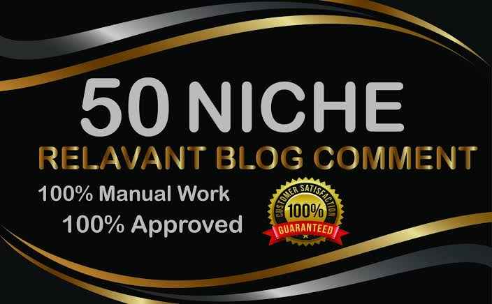 I will do 50 niche relavent blogcomments