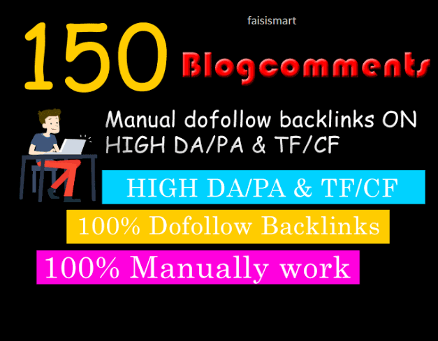 I will do 150 Blog Comments Backlinks dofollow