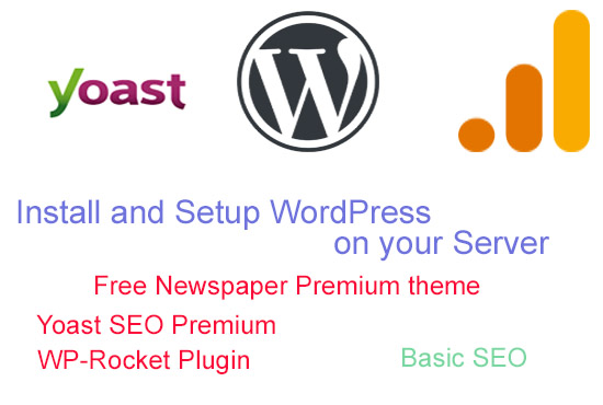 I will Install & Setup WordPress Website on your server
