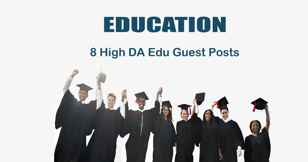 Write One Article and Submit It to Two High Da Edu Guest Blog Sites